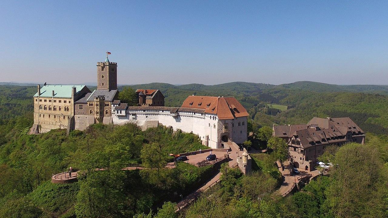 Die Wartburg und Eisenach