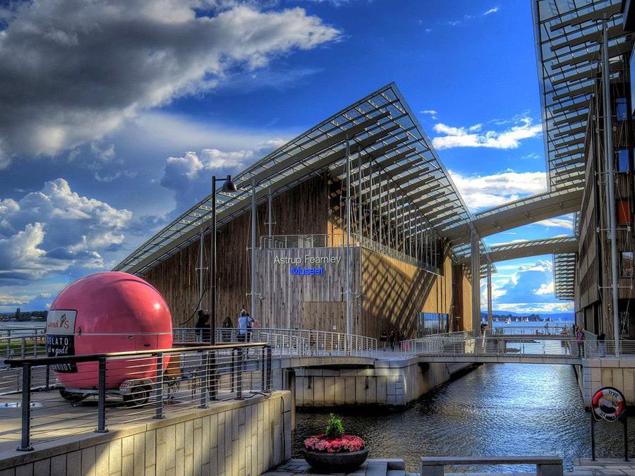 Das Astrup Fearnley Museum of Modern Art Oslo