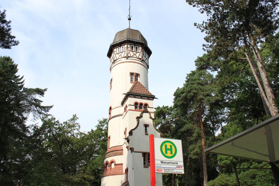 Der Ohlsdorfer Friedhof in Hamburg