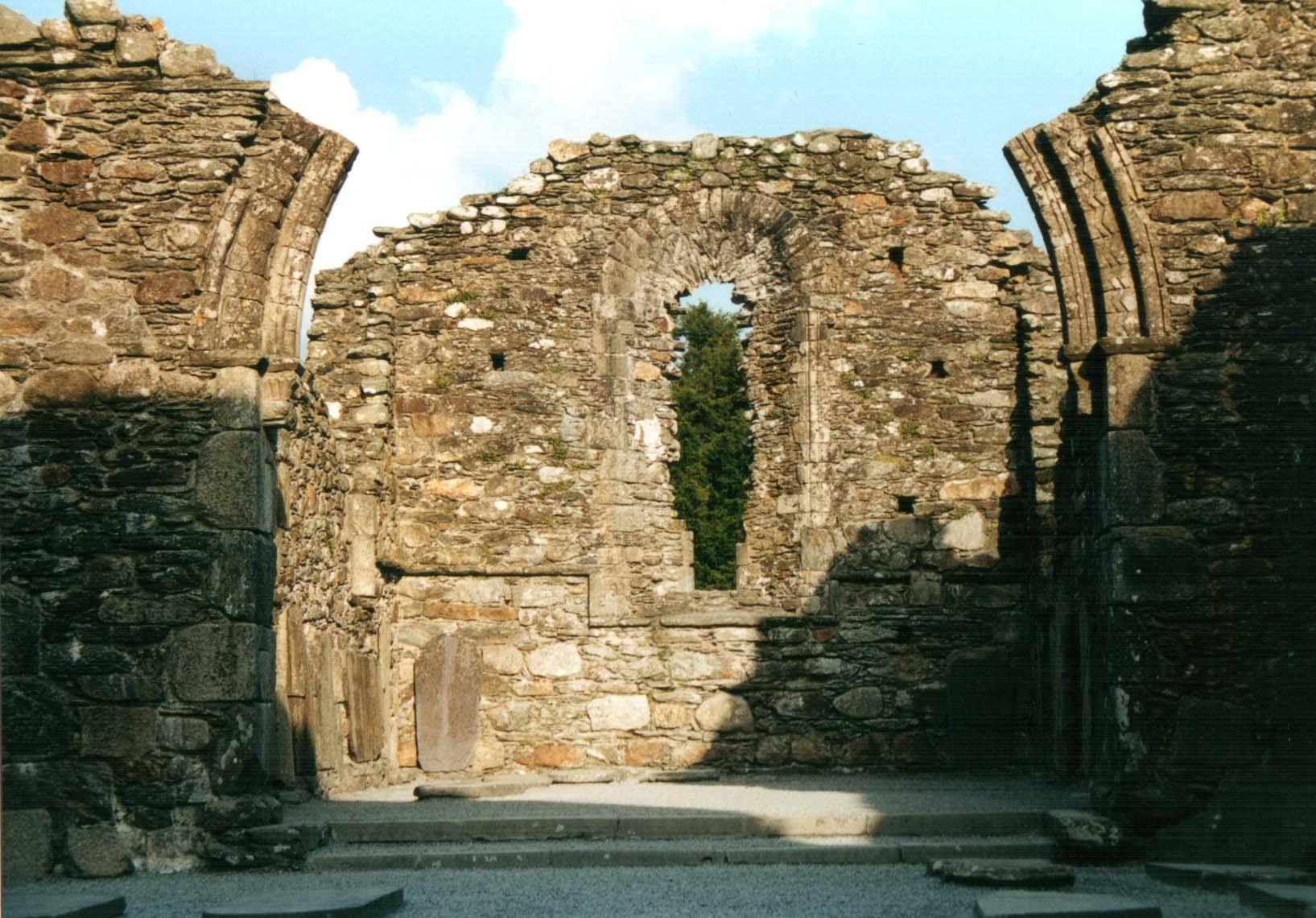 Die Ruinen von Glendalough