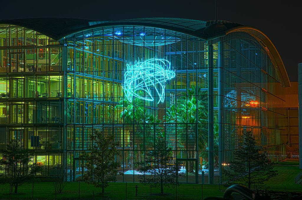 Das Lufthansa Aviation Center in Frankfurt