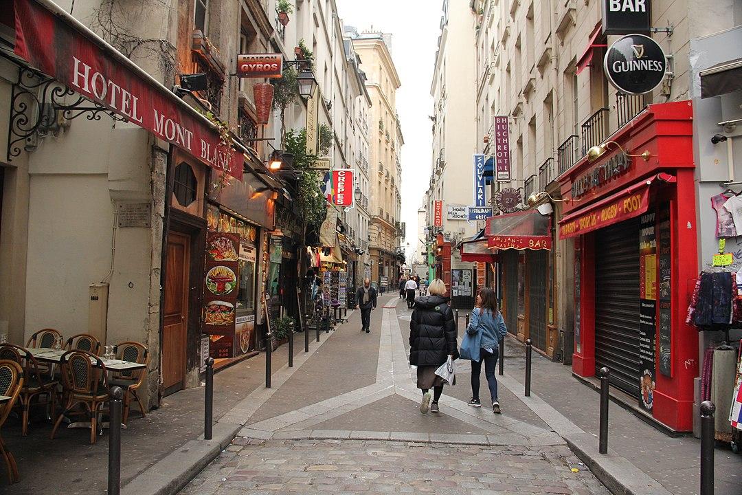 Quartier Latin in Paris