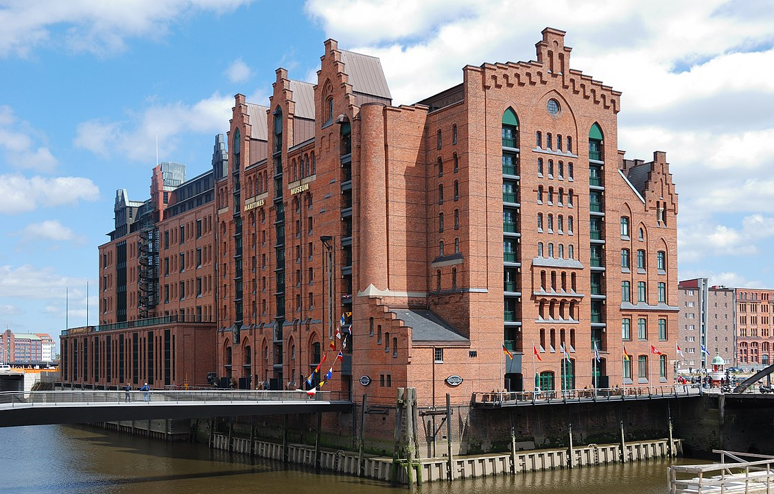 Int. Maritimes Museum in Hamburg