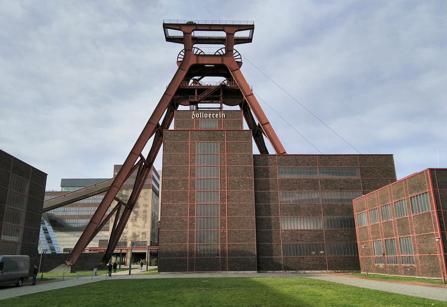 Industrieanlagen im Ruhrgebiet
