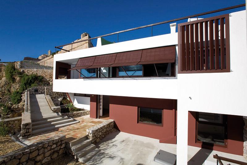 Das Erwin Broner Haus auf Ibiza