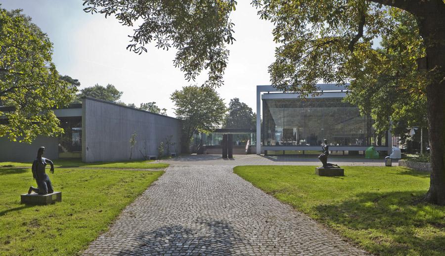 Das Lehmbruck Museum in Duisburg