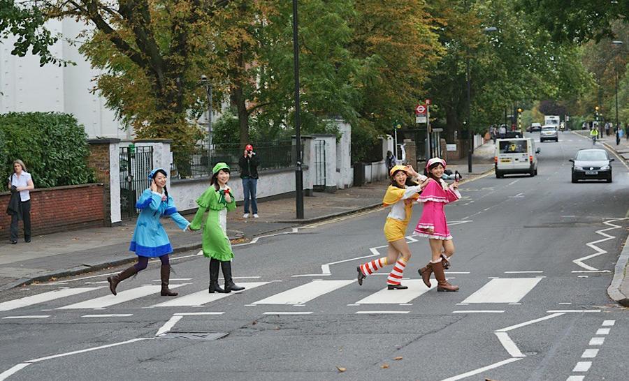 Die Beatles in London