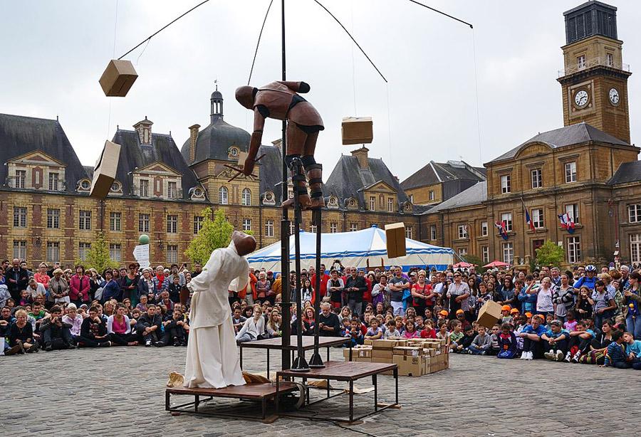 Das größte Puppentheater-Festival der Welt