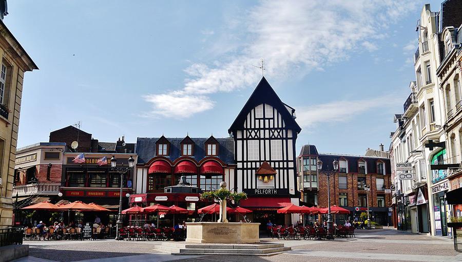 Saint-Quentin in Nordfrankreich