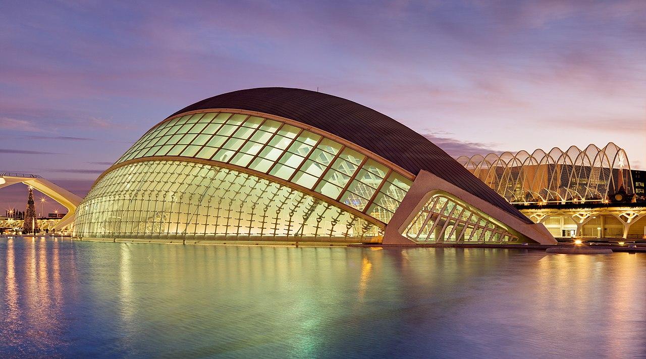 Valencia: Stadt der Künste und der Wissenschaften