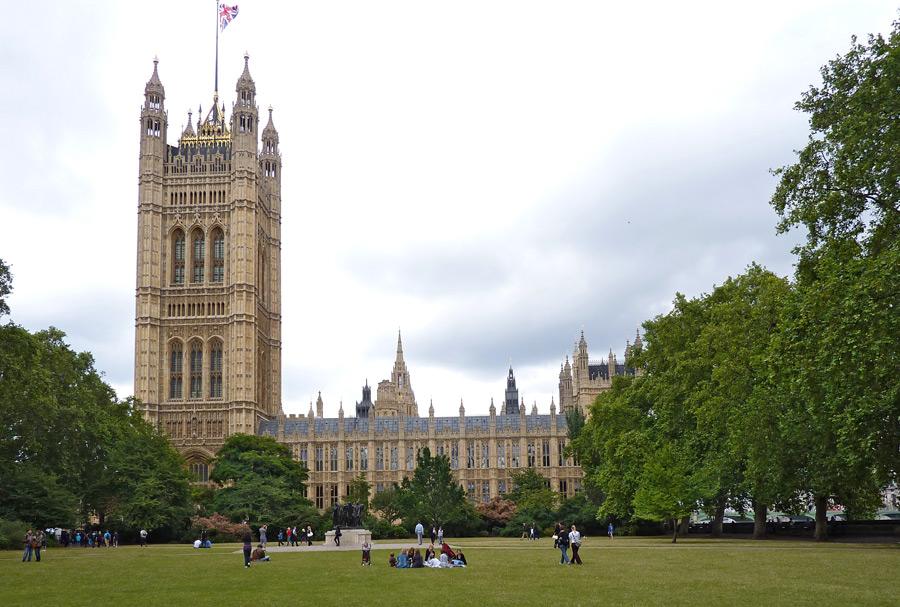 Londons altes Regierungsviertel