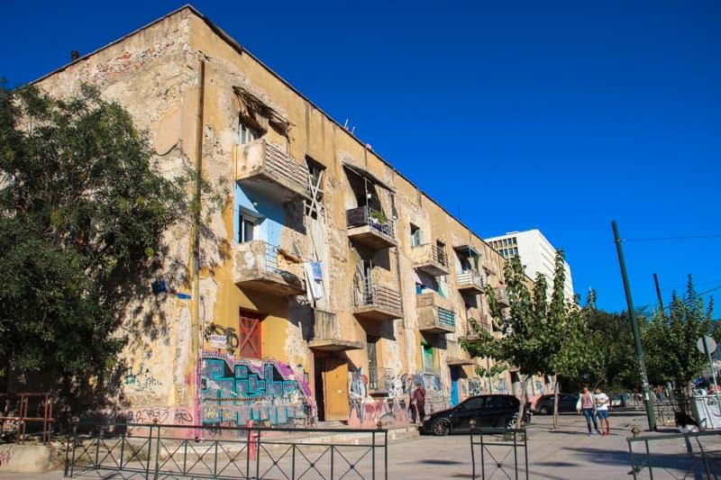 Flüchtlingshäuser Alexandras-Boulevard